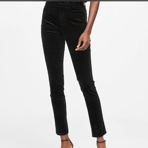 Banana Republic Skinny-Fit Velvet Pant
